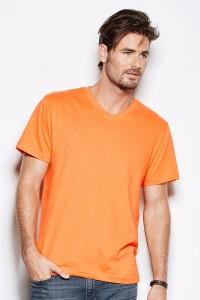 Мъжки цветни тениски от памук,