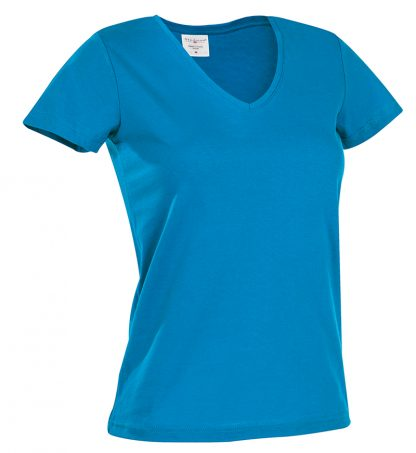 Дамски памучни тениски