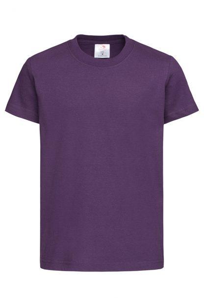 Тъмно лилави детски тениски