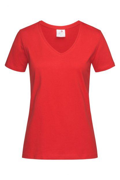 Обикновени памучни дамски тениски