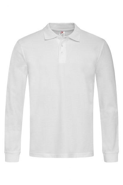 Мъжки блузи дълъг ръкав с яка, мъжки памучни блузи памук тип поло