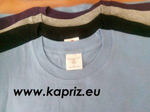 Детски памучни едноцветни тениски