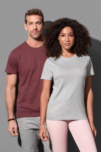 Дамски и мъжки тениски с обло деколте